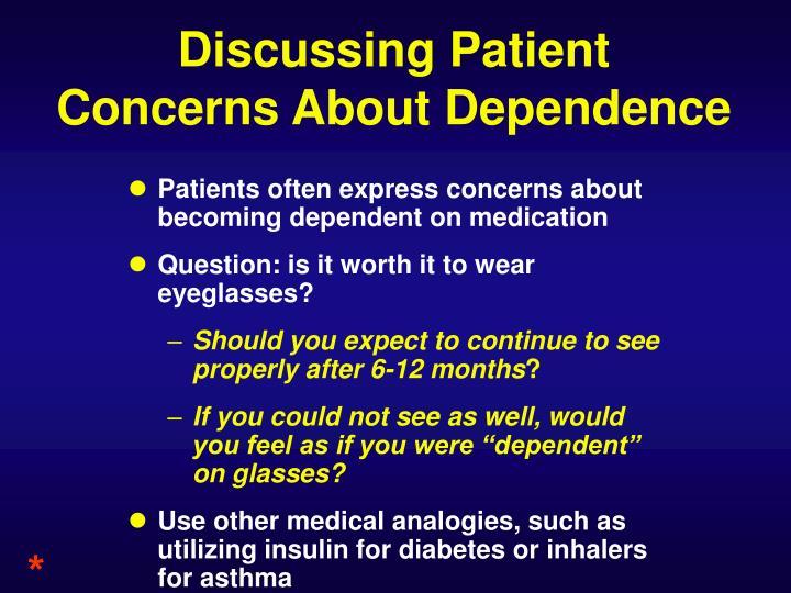 Discussing Patient