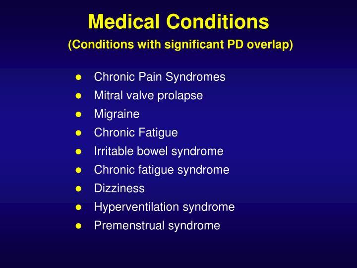 Chronic Pain Syndromes