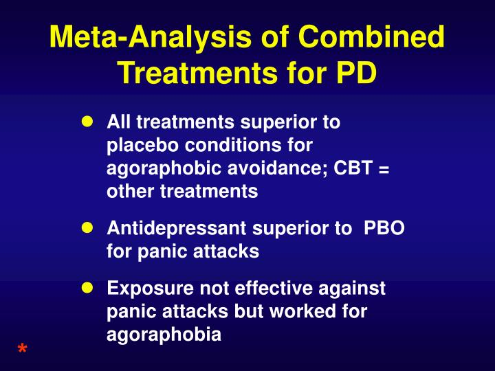 Meta-Analysis of Combined Treatments for PD