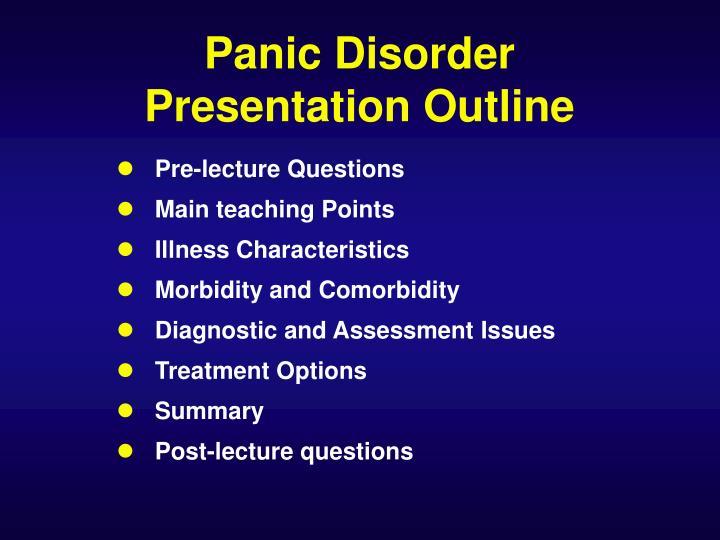 Panic Disorder