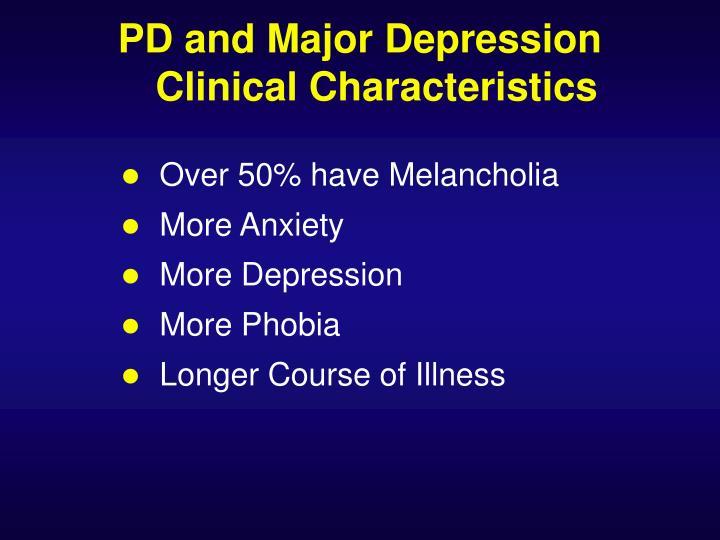 Over 50% have Melancholia