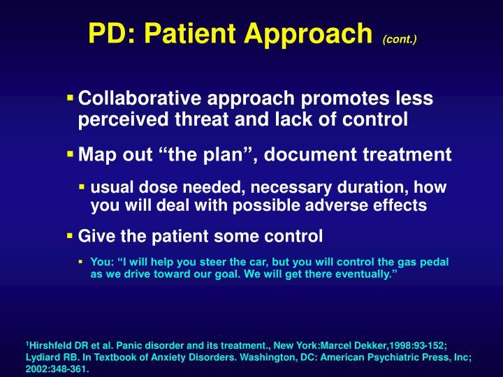 PD: Patient Approach