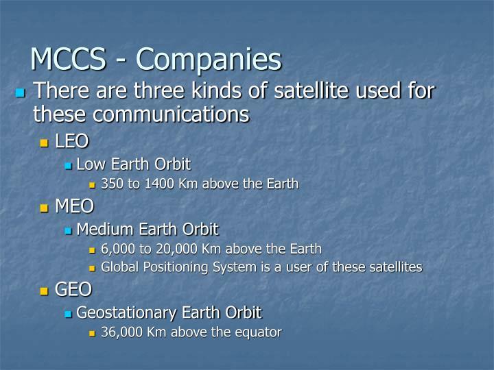 MCCS - Companies