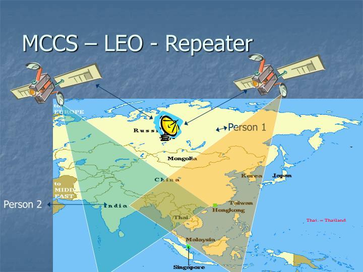 MCCS – LEO - Repeater