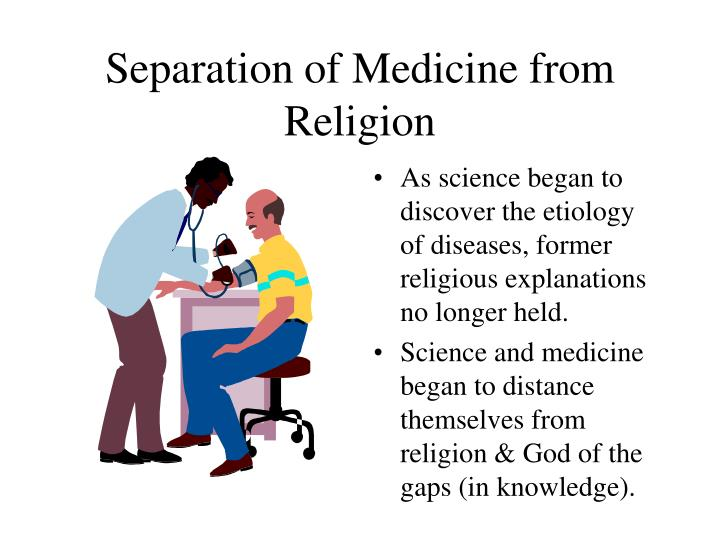 Separation of Medicine from Religion