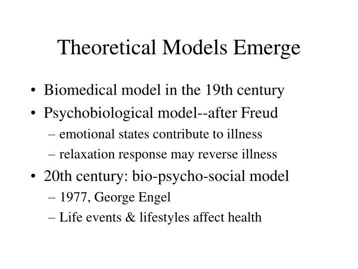 Theoretical Models Emerge