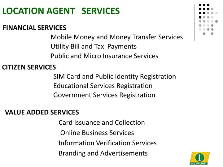 LOCATION AGENT   SERVICES