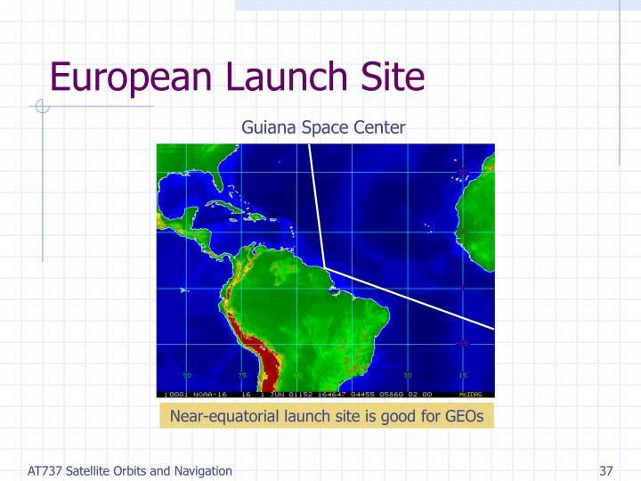 European Launch Site