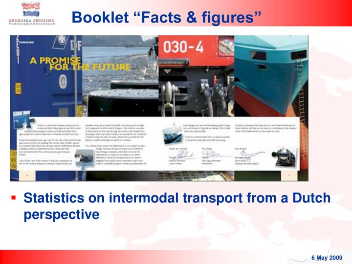 """Booklet """"Facts & figures"""""""