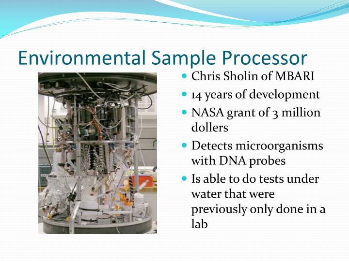 Environmental Sample Processor