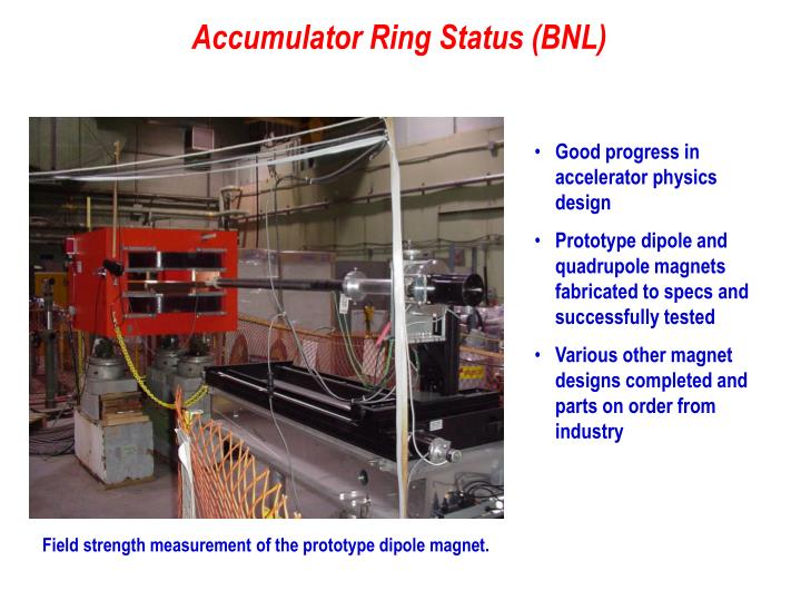 Good progress in accelerator physics design