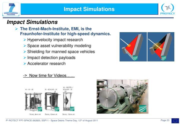 Impact Simulations