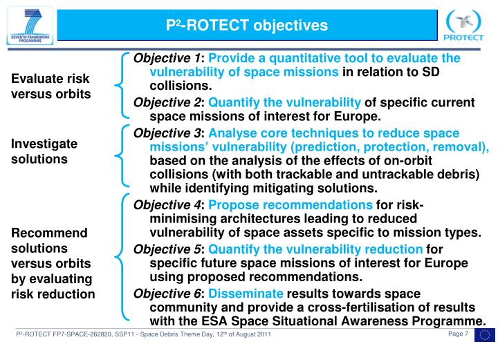 P²-ROTECT objectives