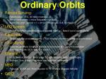 ordinary orbits