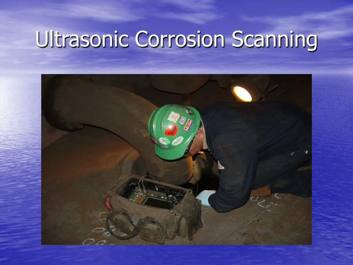 Ultrasonic Corrosion Scanning