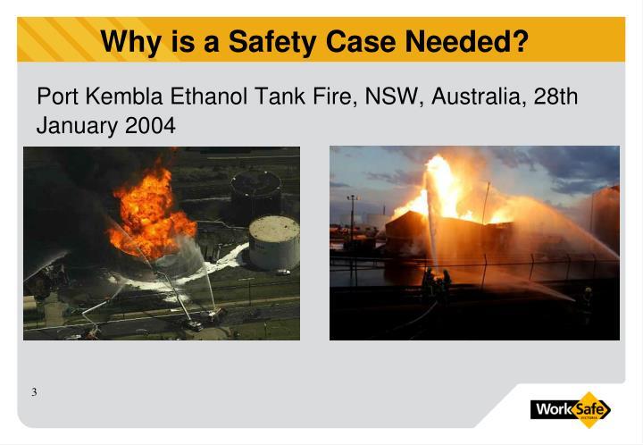 Port Kembla Ethanol Tank Fire, NSW, Australia, 28th January 2004