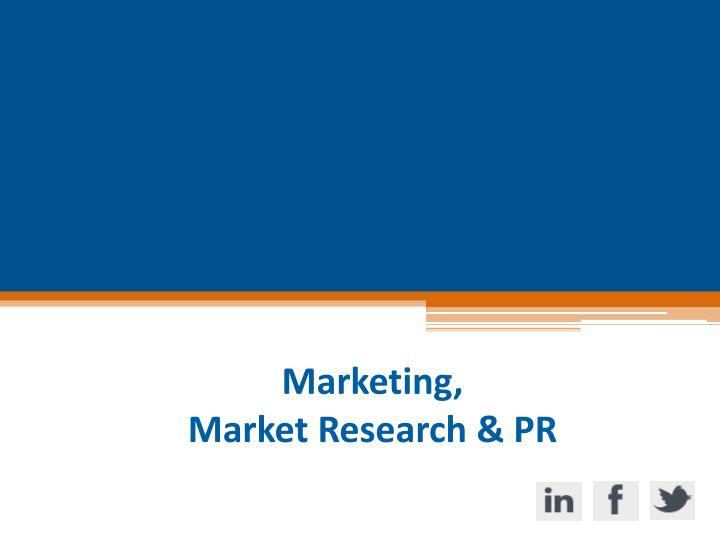 Marketing,