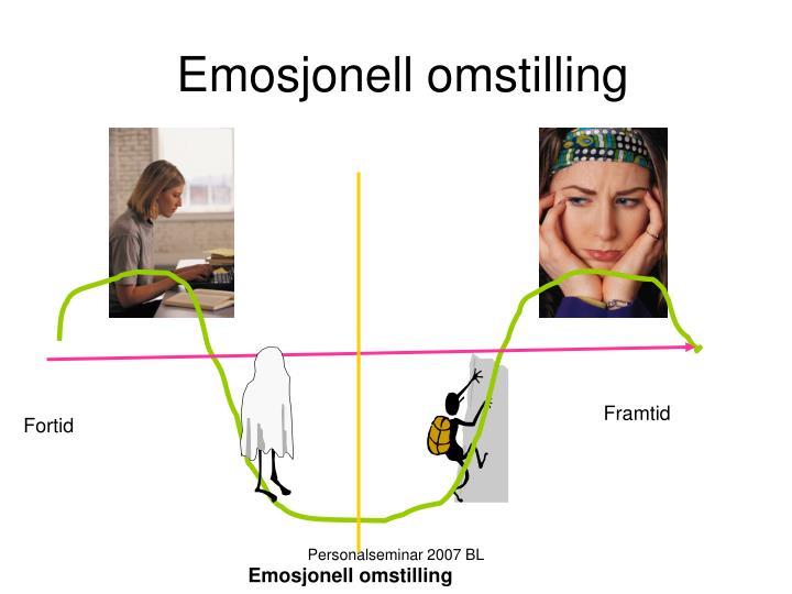 Emosjonell omstilling
