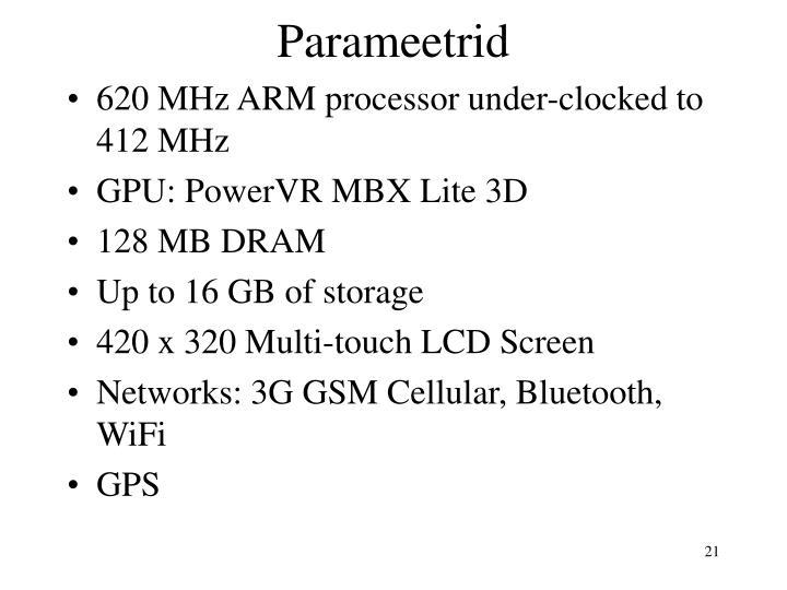 Parameetrid