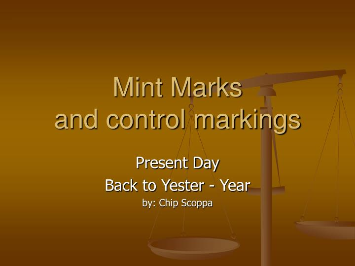 Mint Marks