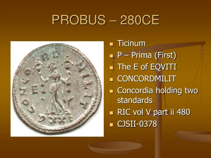PROBUS – 280CE