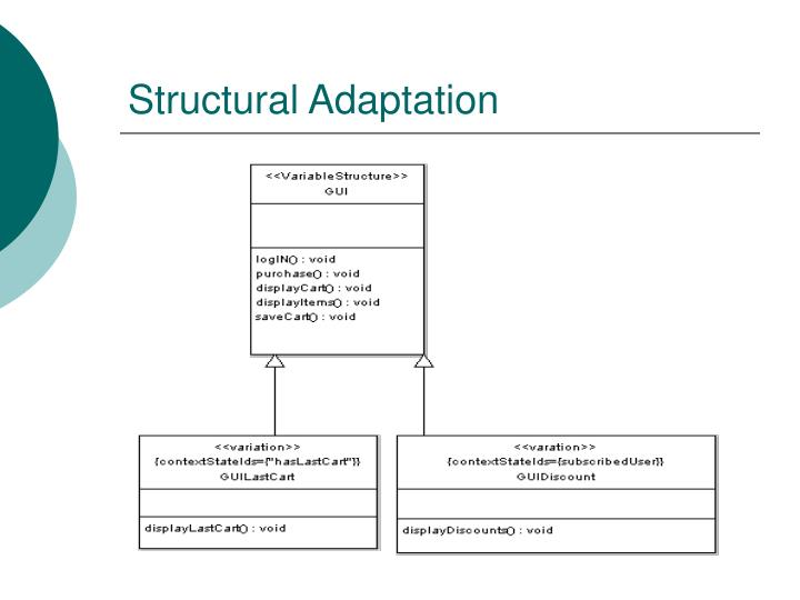 Structural Adaptation