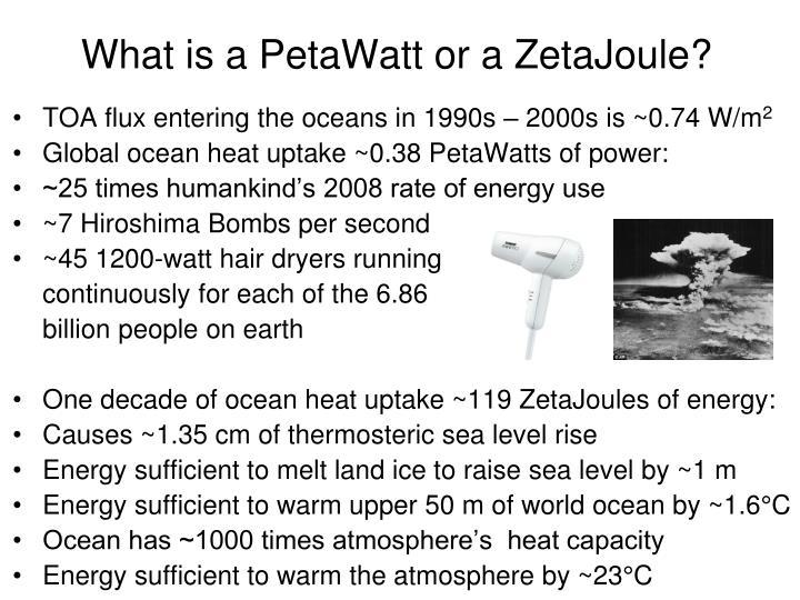 What is a PetaWatt or a ZetaJoule?