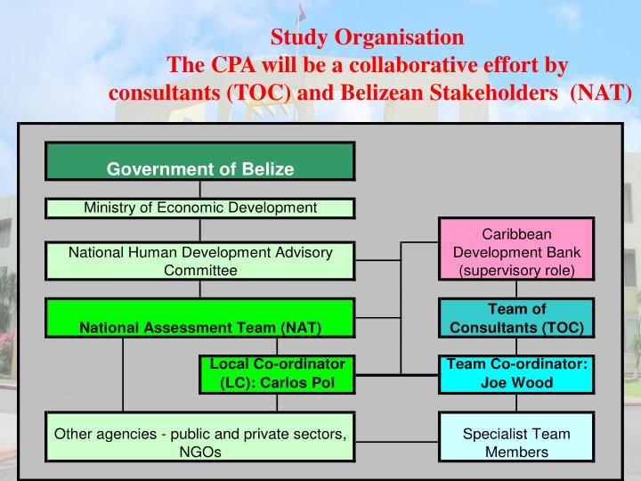 Study Organisation