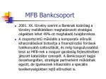 mfb bankcsoport