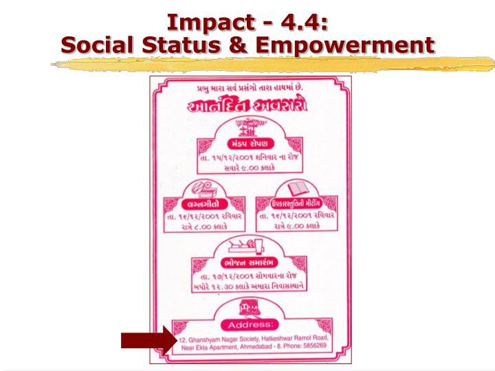 Impact - 4.4:
