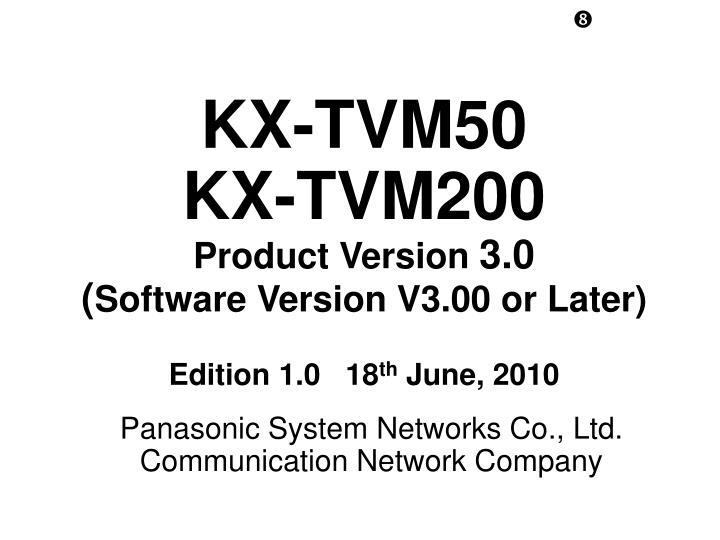 KX-TVM50