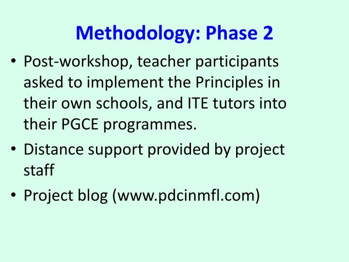 Methodology: Phase 2