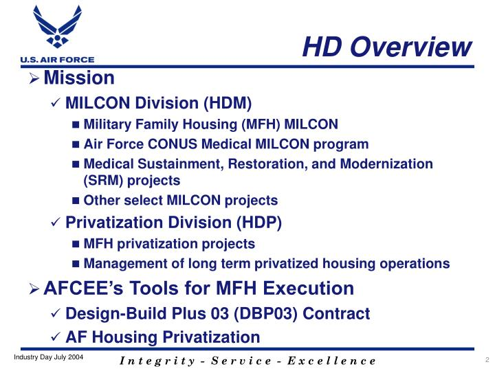 HD Overview
