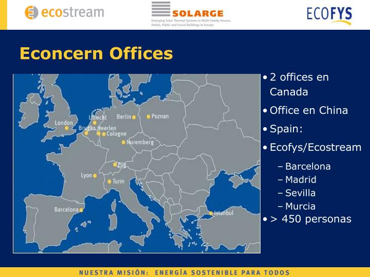 Econcern Offices
