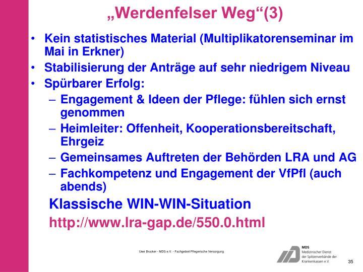 """""""Werdenfelser Weg""""(3)"""