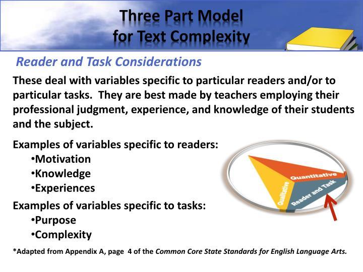 Three Part Model