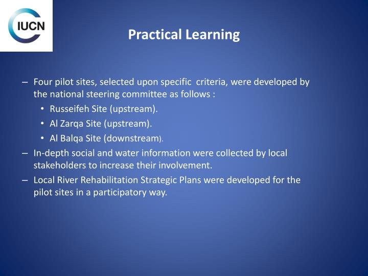 Practical Learning
