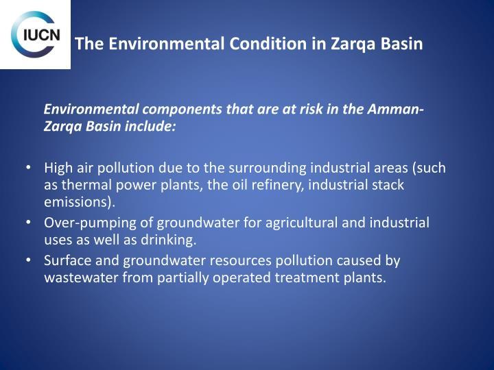 The Environmental Condition in Zarqa Basin