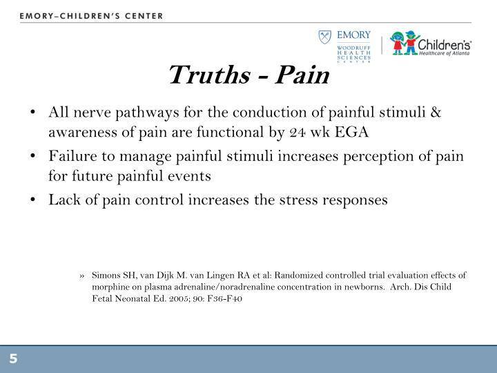 Truths - Pain