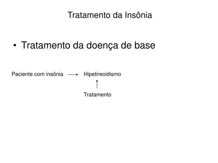 Tratamento da Insônia
