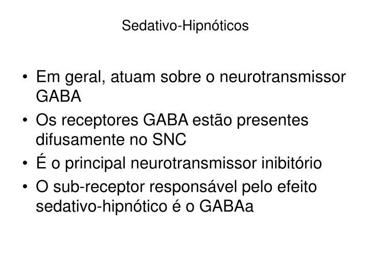 Sedativo-Hipnóticos