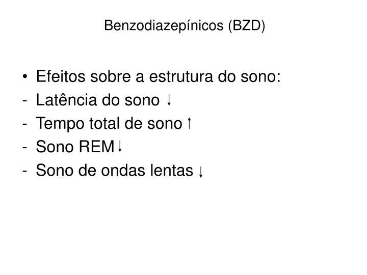 Benzodiazepínicos (BZD)