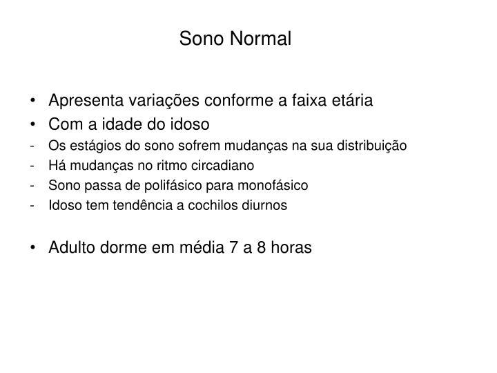 Sono Normal