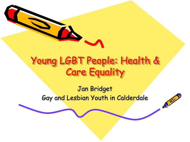 Young lgbt people health care equality