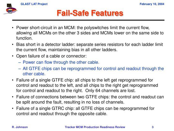 Fail-Safe Features
