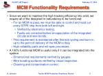 mcm functionality requirements1