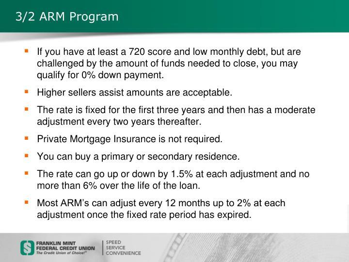 3/2 ARM Program