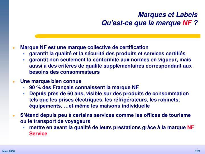 Marques et Labels