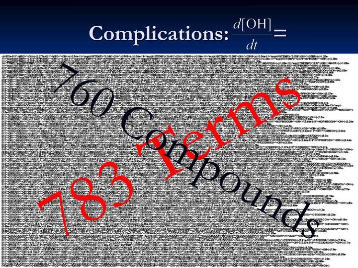 Complications:        =