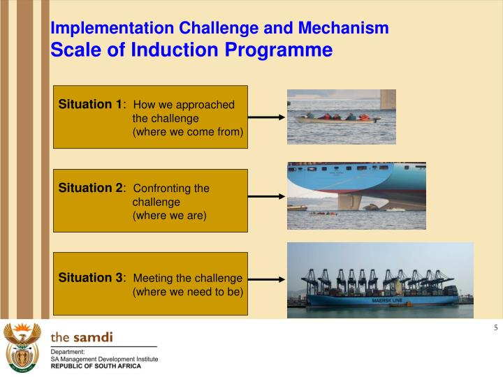 Implementation Challenge and Mechanism
